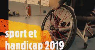 Journée sport et handicap 2019