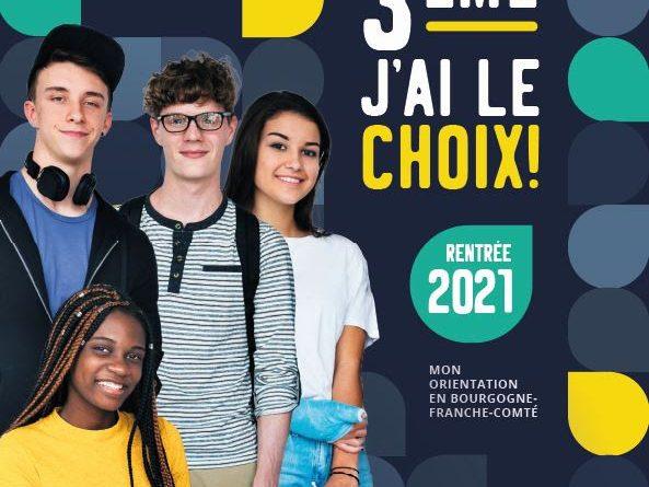 GUIDE APRES LA 3EME, TOUT SUR L'ORIENTATION EN BOURGOGNE-FRANCHE-COMTÉ